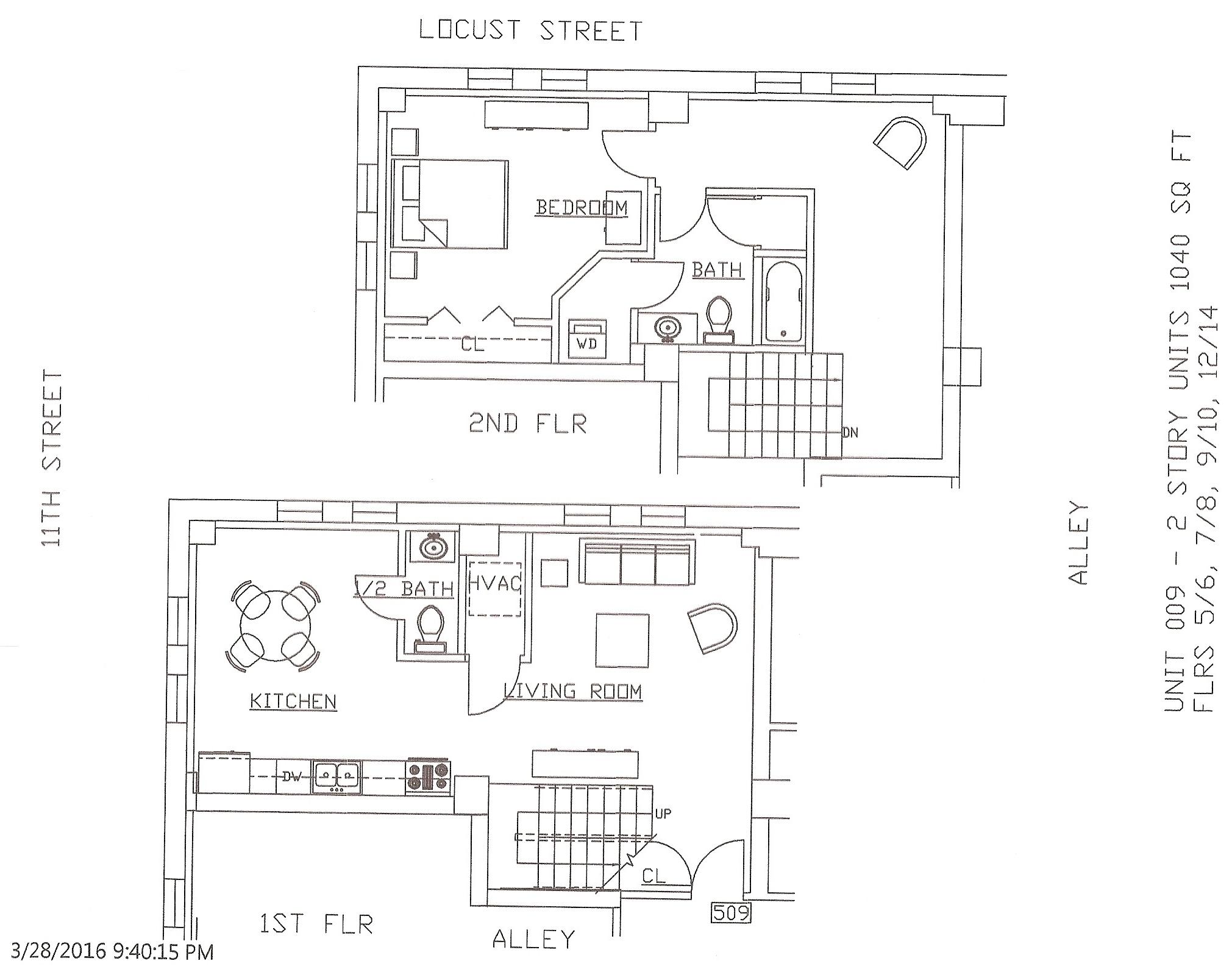 Unit 09, 1040 Square Feet
