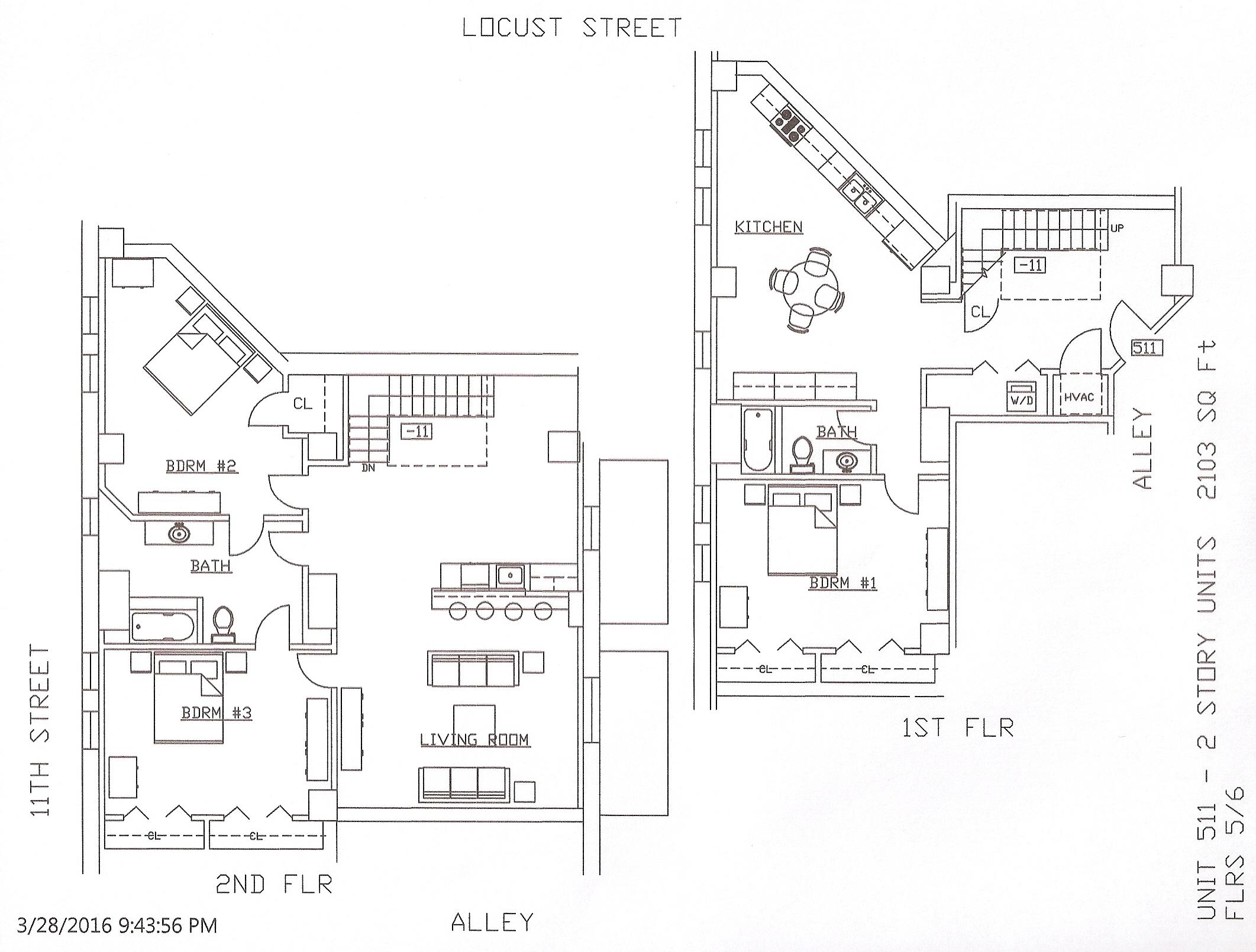 Unit 511, 2103 Square Feet