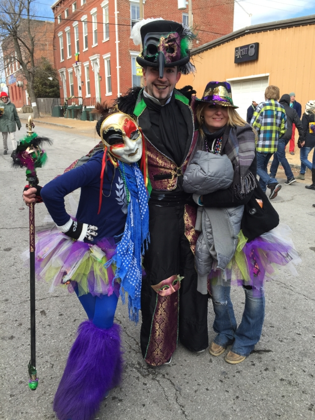 Festival Revelers Dressed for the Occasion