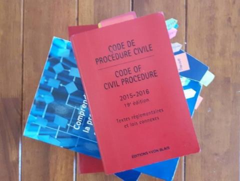 Le nouveau Code de procédure civile, en vigueur depuis le 1er janvier 2016