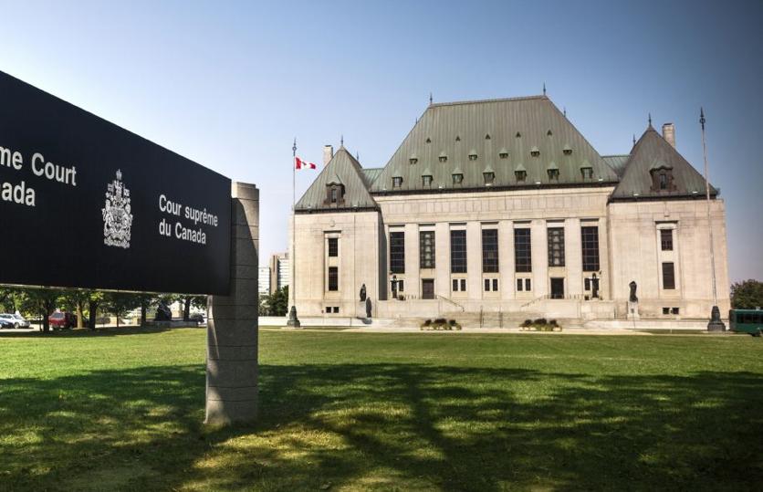 La Cour suprême du Canada, à Ottawa — Photo Getty Images