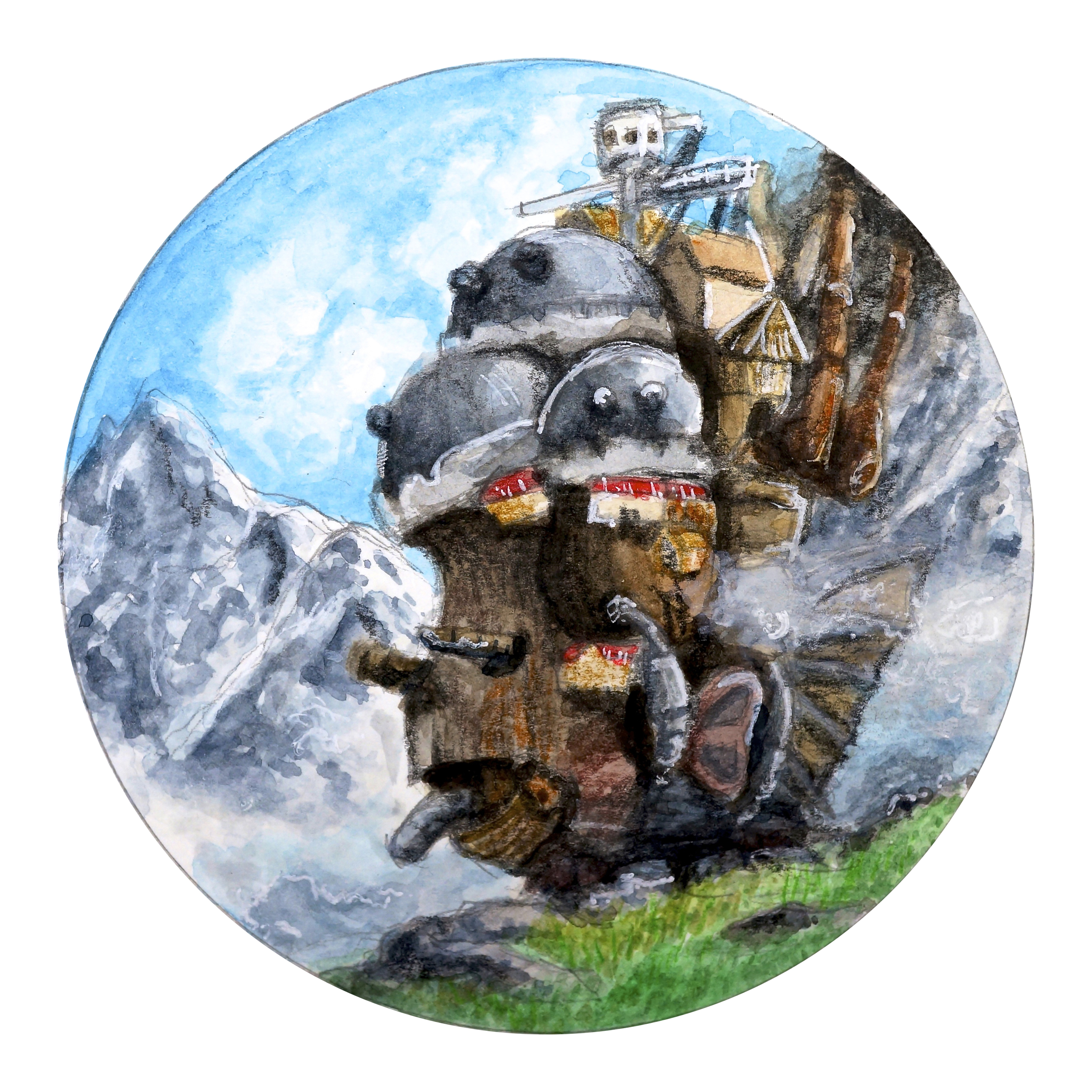 Howl's Moving Castle (Circle Scenery)