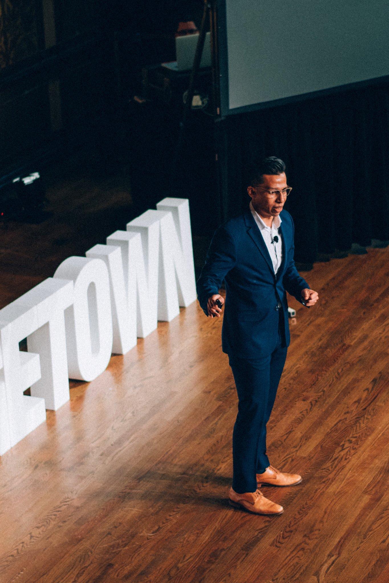 Luis Rosales at TEDxGeorgetown
