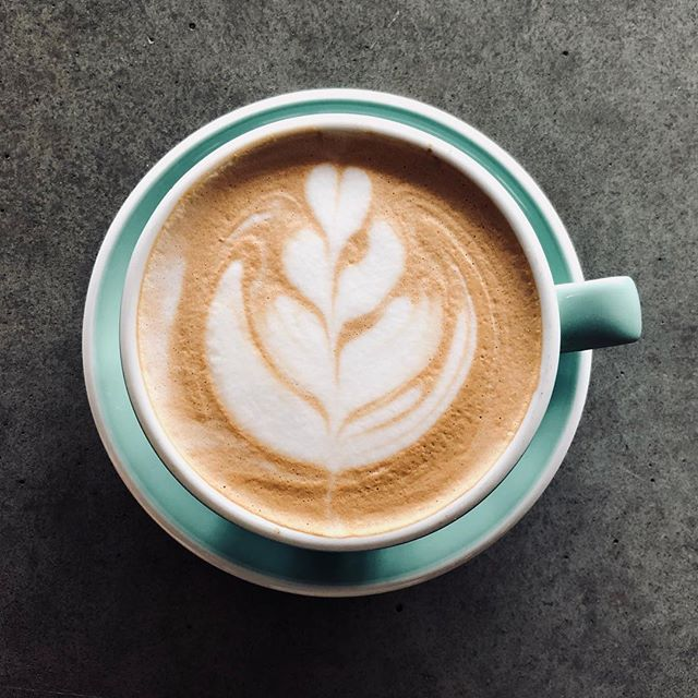 Cloudy days like this have us excited for fall - perfect latte weather!