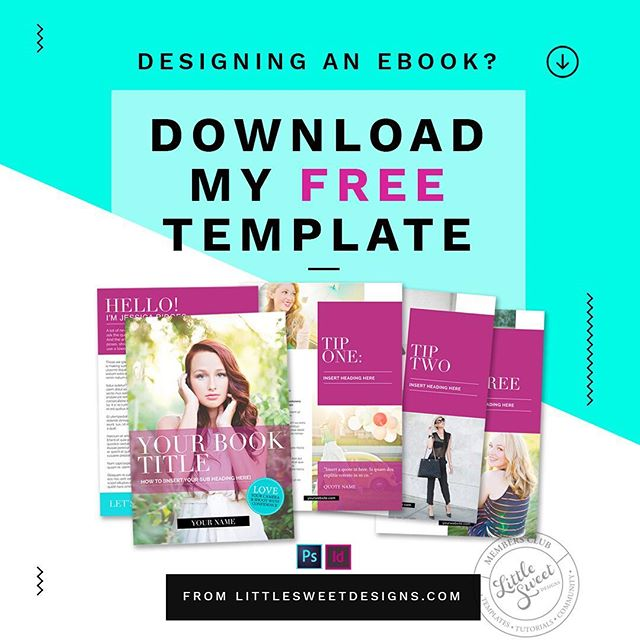 Hi Friend! If you're struggling to design and create your eBook because of ALL THE THINGS, then get your hands on my FREE eBook pre-designed template for use with Adobe Photoshop or InDesign.  Yes, this 5-page eBook design is perfect for taking your design from 'meh' to WOW! There's no need for you to do all the design-work, when I've done it all for you!  Go grab your copy NOW! ↡ bit.ly/-eBookTemplate . . . . . . . . . .  #Design #Designer #GraphicDesign #GraphicDesigner #Adobe #InDesign #Magazine #eBook #Print #Printed #Photoshop #Portfolio #LittleSweetDesigns #TheBrandBar #FreeTemplate #Free #TemplateDownload #DownloadNow #SallyannRalph #MadeInInDesign #MadeInPhotoshop #LittleSweetDesigns #StyleWhatMatters #CreativeChics #FindYourFlock #GirlBoss #CommunityOverCompetition #CreativeLifeHappyLife #CalledToBeCreative  #PersuePretty