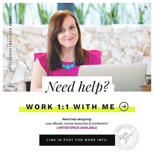 "Is it time to 'fast-track' your first (or next) eBook design?  If you are struggling to design an eBook you love, or are simply 'over' wasting your precious time spent trying to figure out Canva (or Adobe Pages), and 'working on it' into the wee hours of the morning (or if you're still at it 3-days later 🤔 ) - you know something's gotta change!  If you don't have the time, knowledge, tools, interest or patience to design it yourself - I offer a ""done-for-you"" service where my team and I take care of your eBook design for you.  Yes, I take care of ALL the design for you.  Yes, it IS affordable (and i'm not just saying that!) Yes, we populate your content for you into our designs, or craft you a brand new design - It's like having a designer on call, without the designer price-tag!  Oh and did I mention it's a super quick process?  Interested? You can learn more here friend : http://bit.ly/-done-for-you . . . . . . . . . .  #Design #Designer #GraphicDesign #GraphicDesigner #Adobe #InDesign #Magazine #eBook #Print #Printed #Photoshop #Portfolio #LittleSweetDesigns #TheBrandBar #FreeTemplate #Free #TemplateDownload #DownloadNow #SallyannRalph #MadeInInDesign #MadeInPhotoshop #LittleSweetDesigns #StyleWhatMatters #CreativeChics #FindYourFlock #GirlBoss #CommunityOverCompetition #CreativeLifeHappyLife #CalledToBeCreative  #PersuePretty"