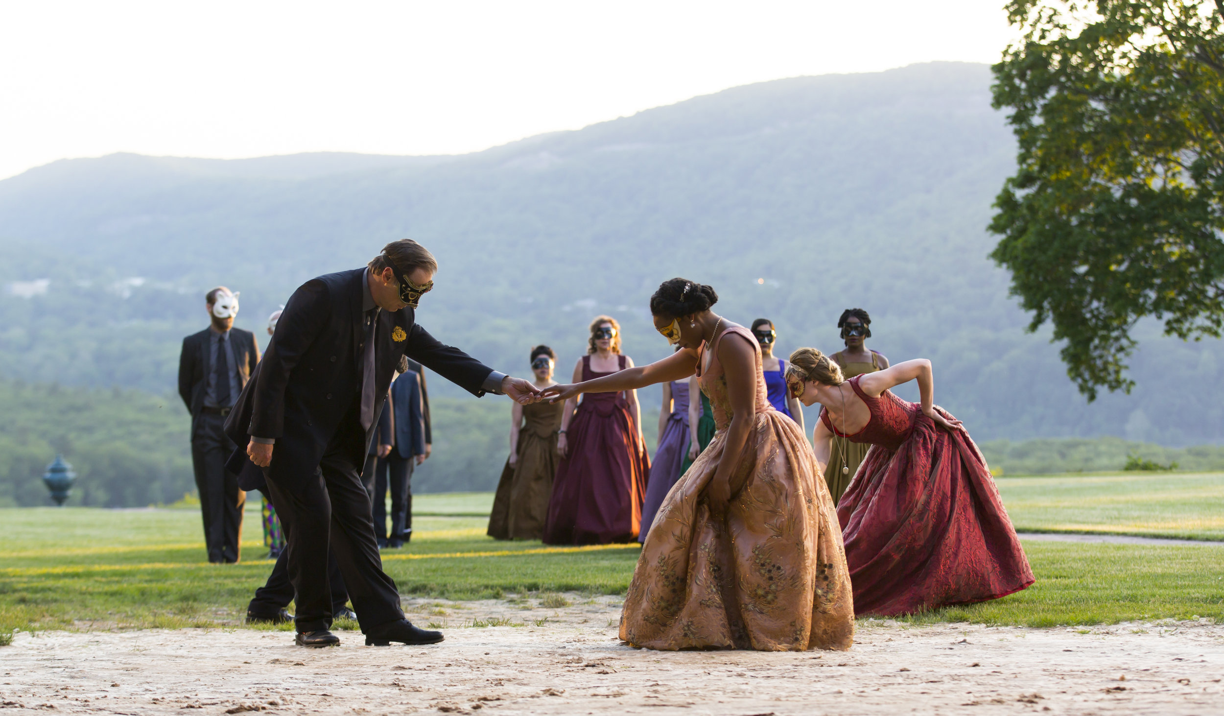 As You Like It, Hudson Valley Shakespeare, photo by T Charles Erickson