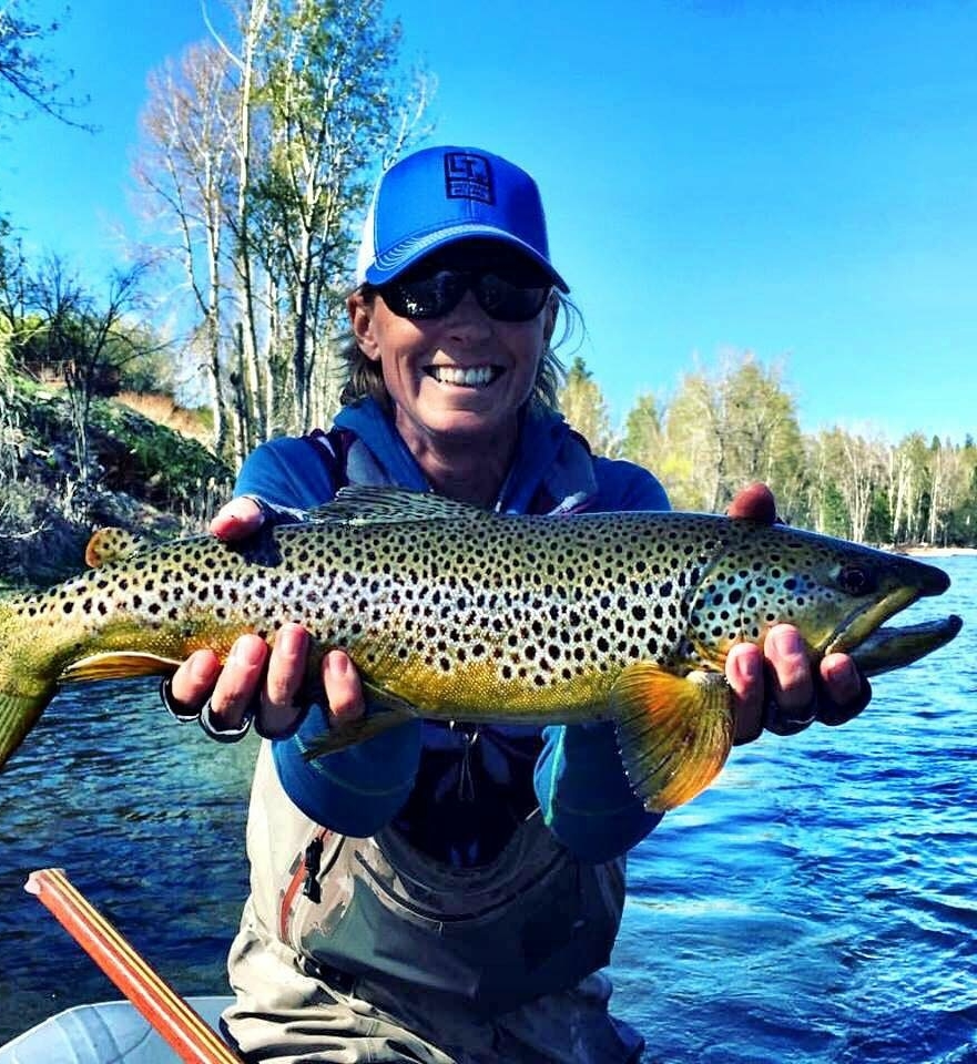 Jenny West is a fly fishing guide in the Bitterroot Valley of Montana.