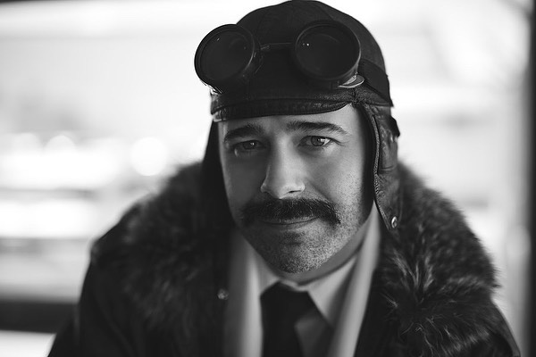 Award winning playwright, actor, and director, Ben Pittman remained in character for my camera, after delivering an amazing monologue performance in front of a VIP audience. He portrayed a pilot and a reporter from 100 years ago, telling the tale of Alcock and Brown's transatlantic flight. #playwright #monologues #aviation #aviators #avgeek #pilot #pilotsofinstagram #actor #alcockandbrown #alcockandbrown100 #aviationnl #aviation_lovers #commercialphotography #portraitphotography #sigma50mmart #nikoncanada