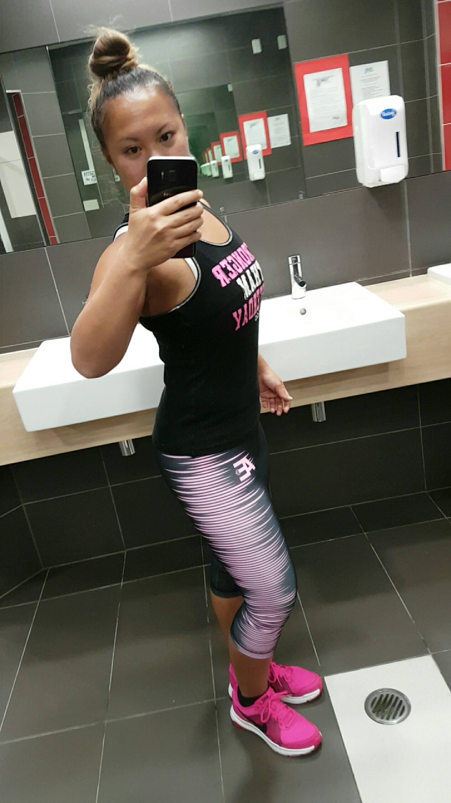 Note; if you want to order a pair of the leggings I am wearing please contact me via the facebook page, my instagram or the contact form on the home page of the website. Social media links found on the website.  Www.thefitnessfreedomflow.com