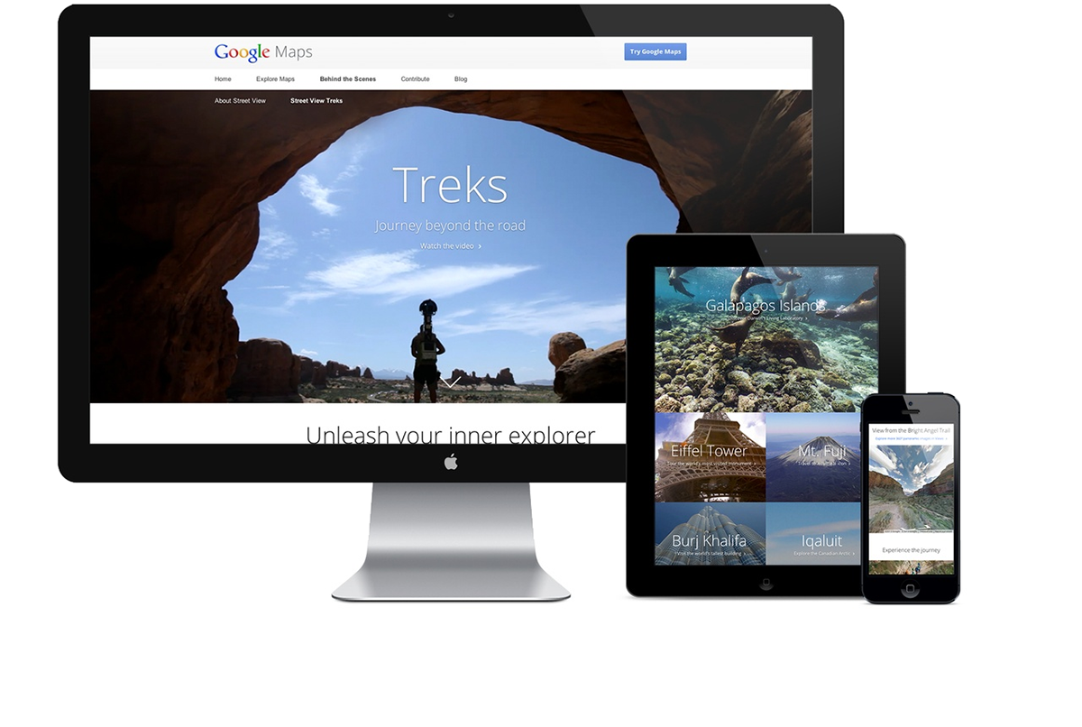 Google Treks