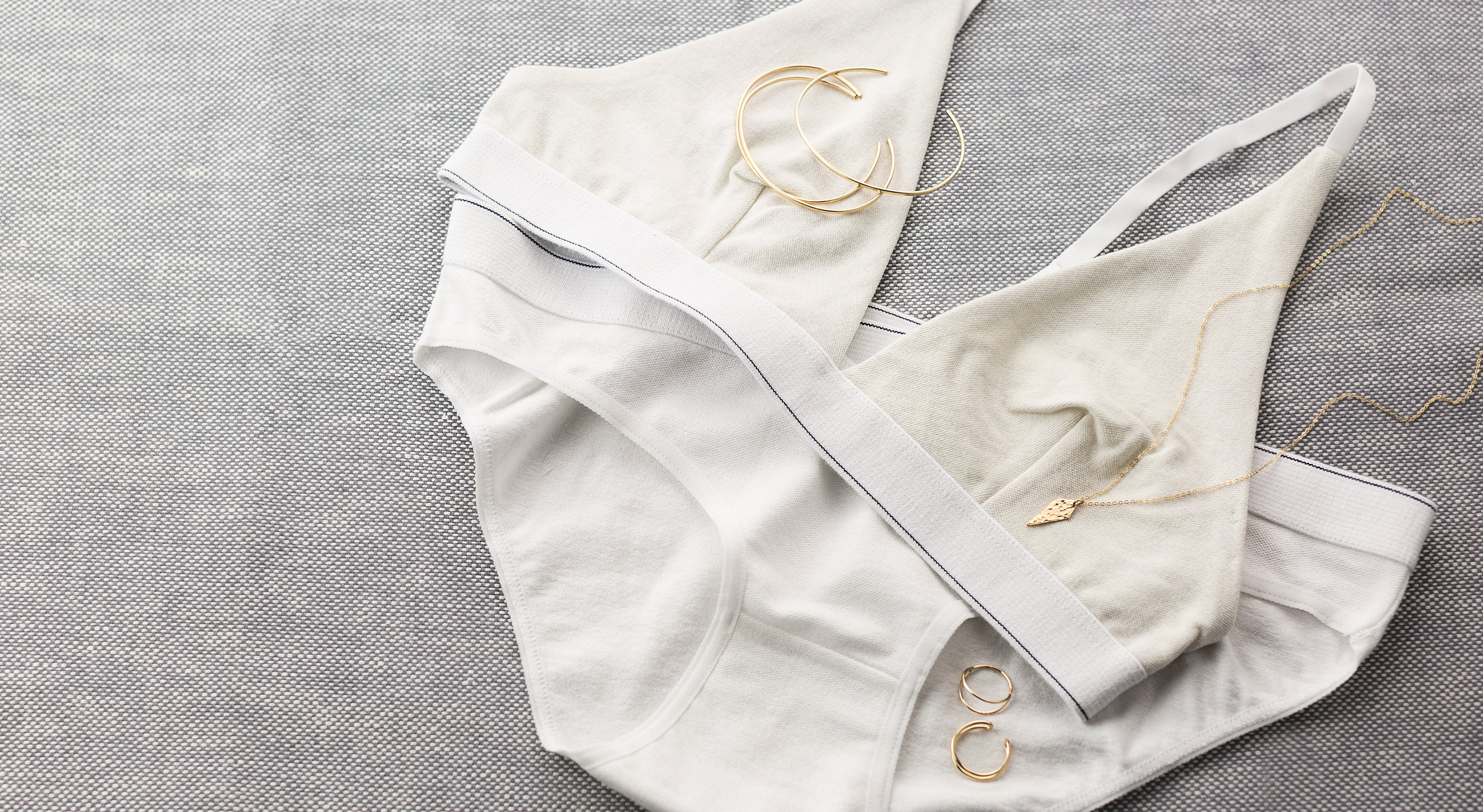 UNDIES:  Baserange .  GLDN JEWELRY:  Bruges  Ring,  Silo  Ring, Skinny Stacking Cuffs (coming soon),  Myra  Necklace