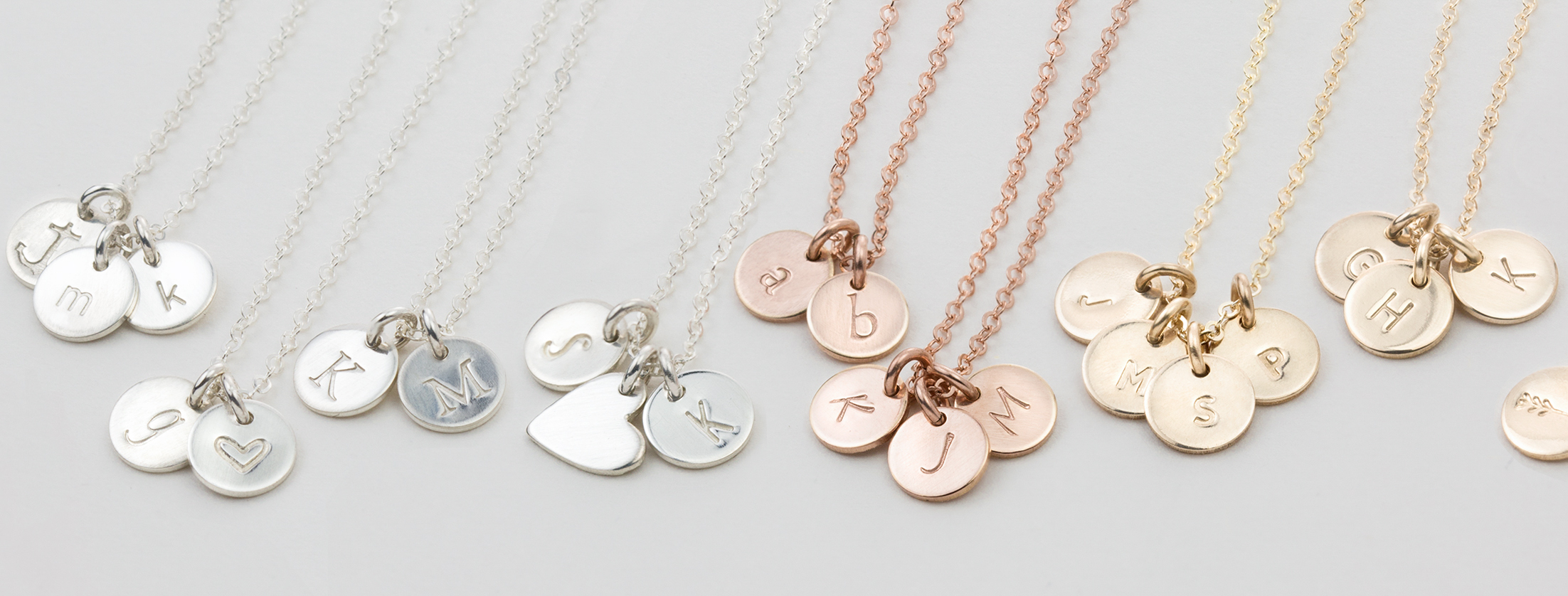 Tiny Disk Necklace