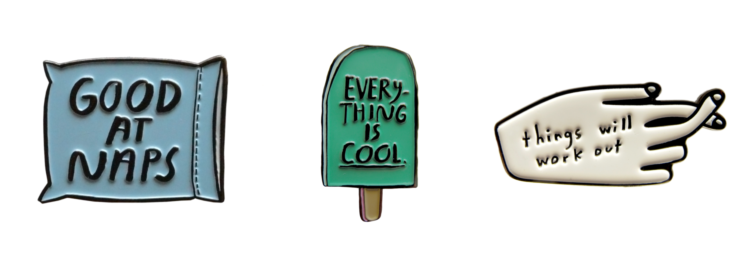 funny trendy cool enamel pins