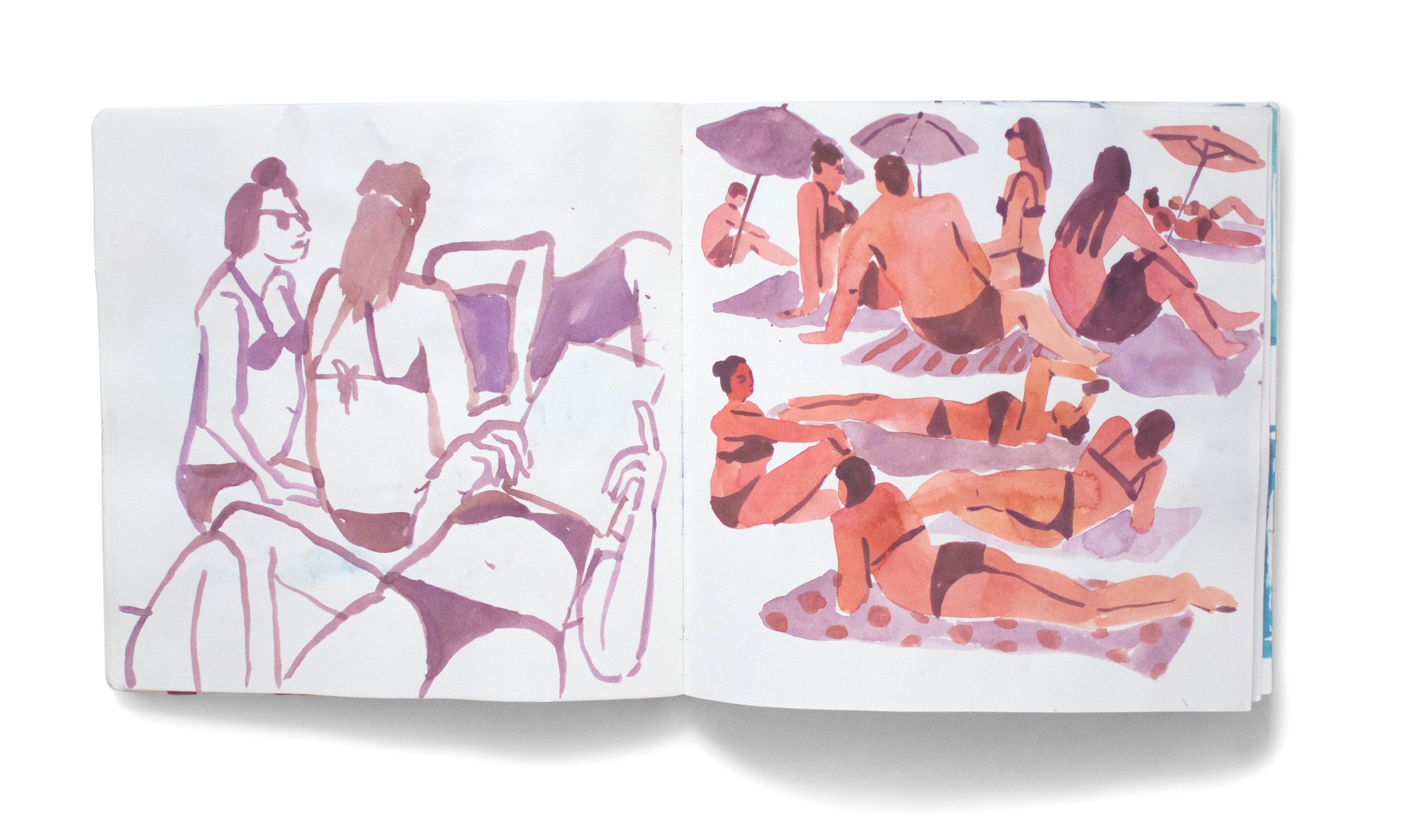 leah goren, sketchbook