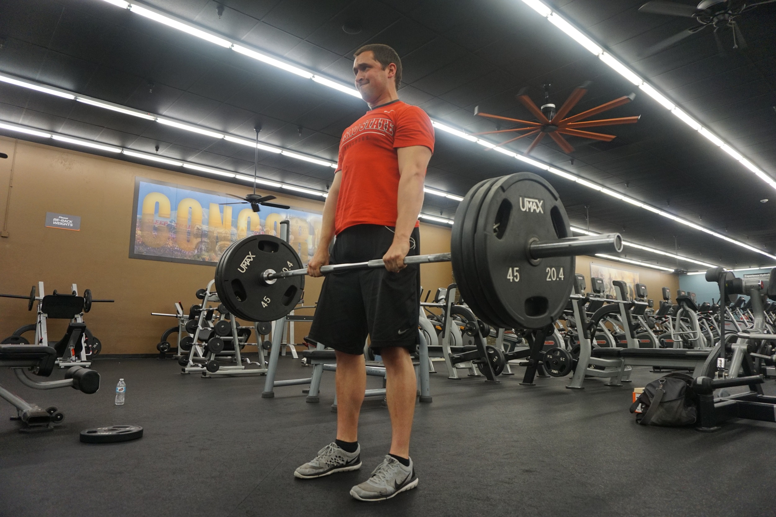 Personal Trainer Baron Deadlifting Walnut Creek
