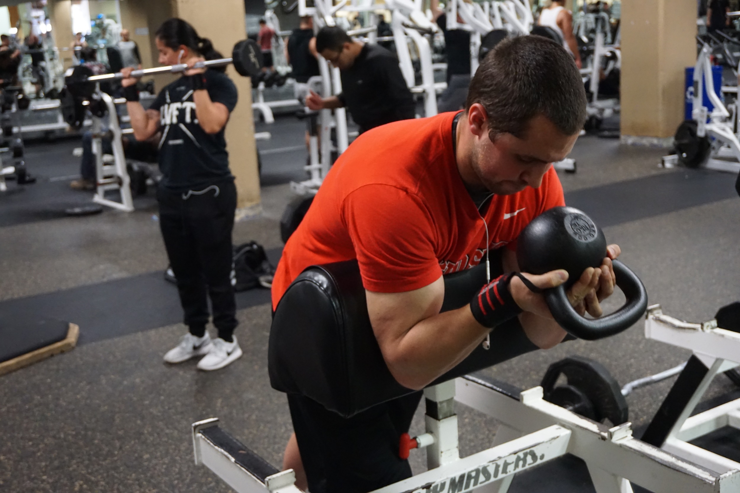 Personal Trainer Baron Bicep Curls Walnut Creek