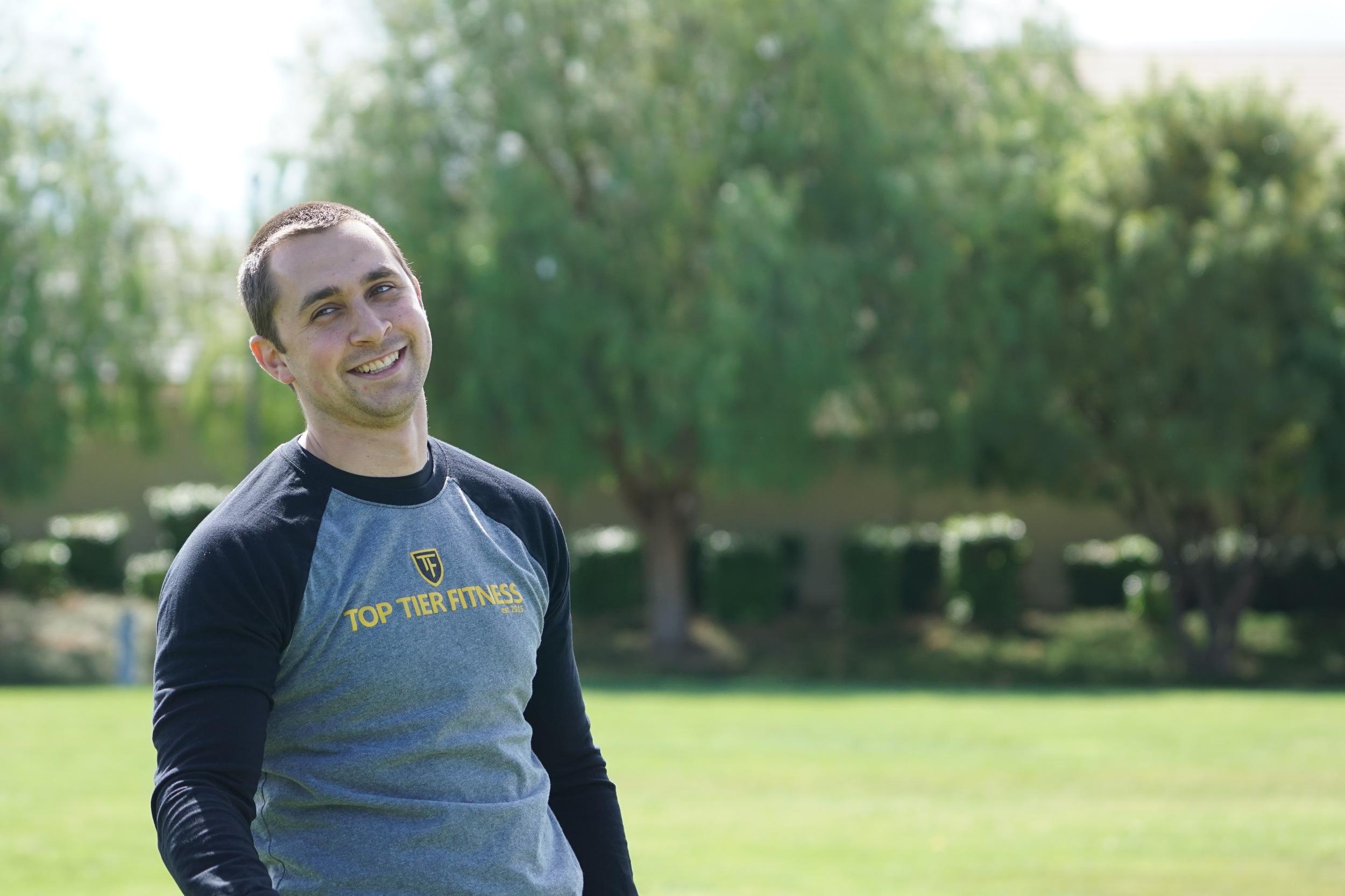 Personal Trainer Baron Lambert Smile Walnut Creek