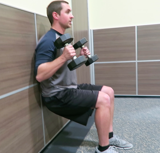 Wall Sit Workout