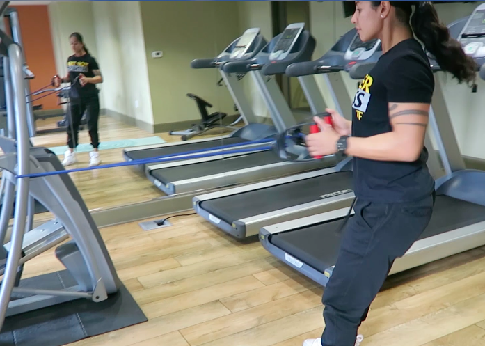 In Home Personal Trainer Rows
