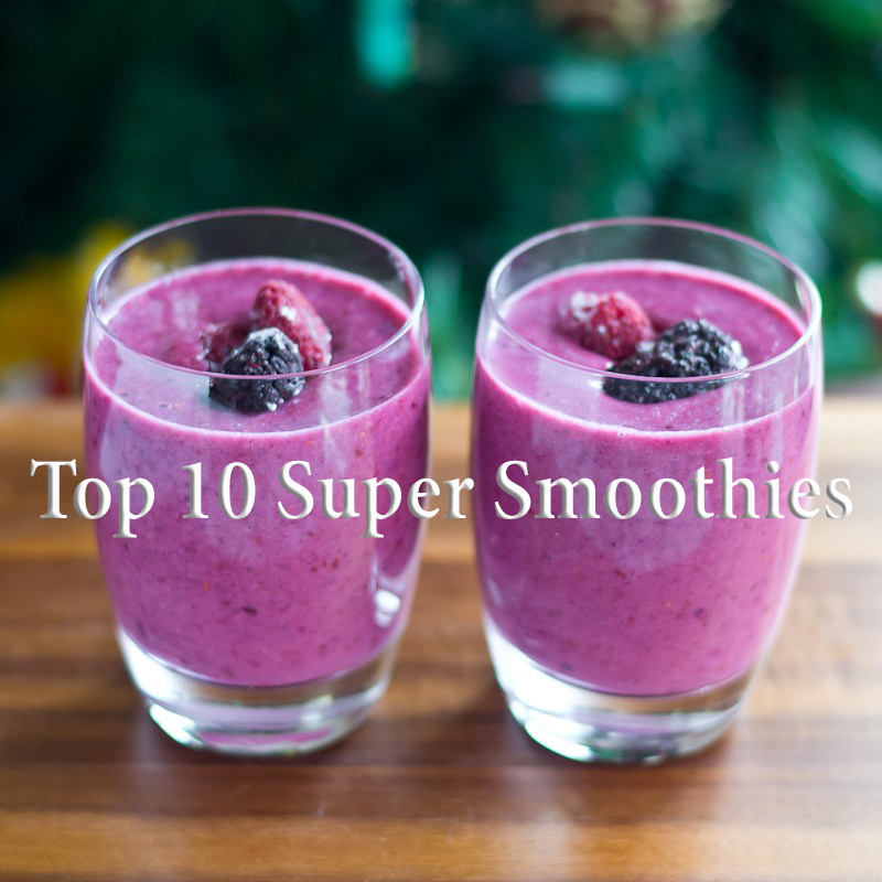 Top 10 SUper Smoothies for weight loss