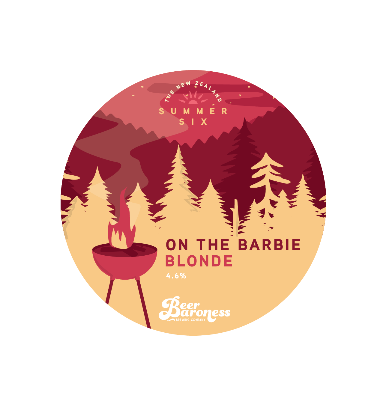 Beer Baroness Summer Six - On the Barbie Blonde - Tap Badge Cropped.png