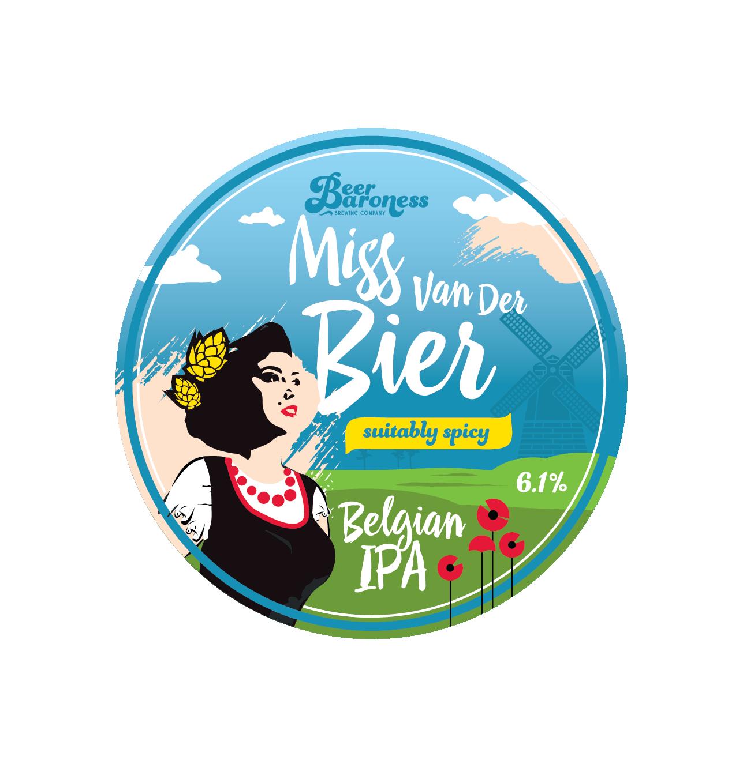 DD003032 Beer Baroness Miss Van Der Bier Tap Badge Supply 2-01.png