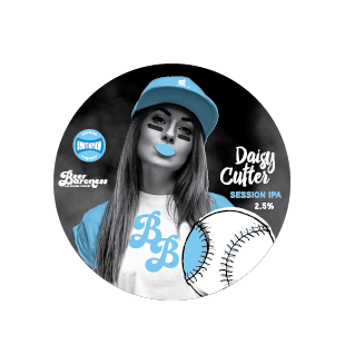 DD004395 Beer Baroness Daisy Cutter Tap Badge T2P Cropped.png