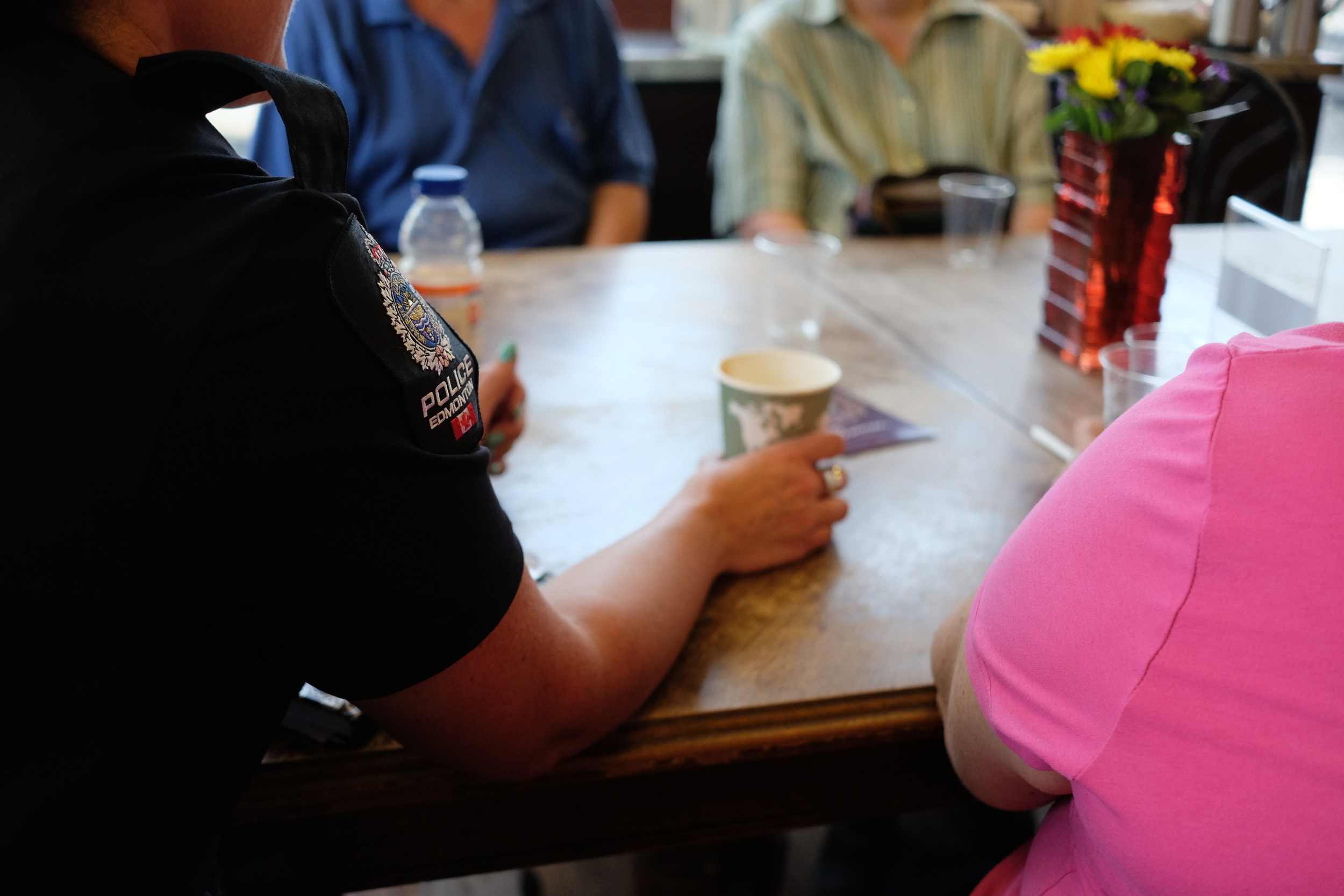 Coffee with Edmonton Police Service