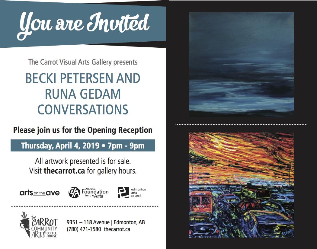 News — The Carrot: Edmonton Community Art Gallery and Coffee