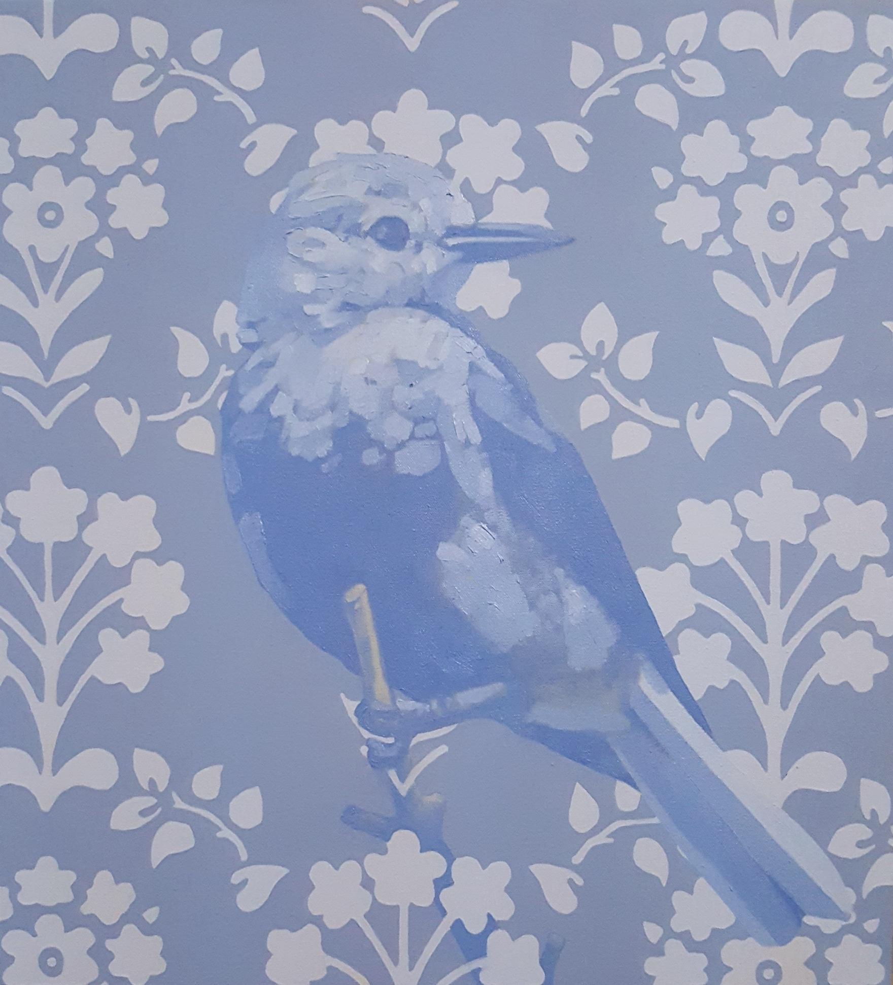 "Haylee Fortin,  Clark's Nutcracker, 24x30"", Oil and acrylic on canvas"