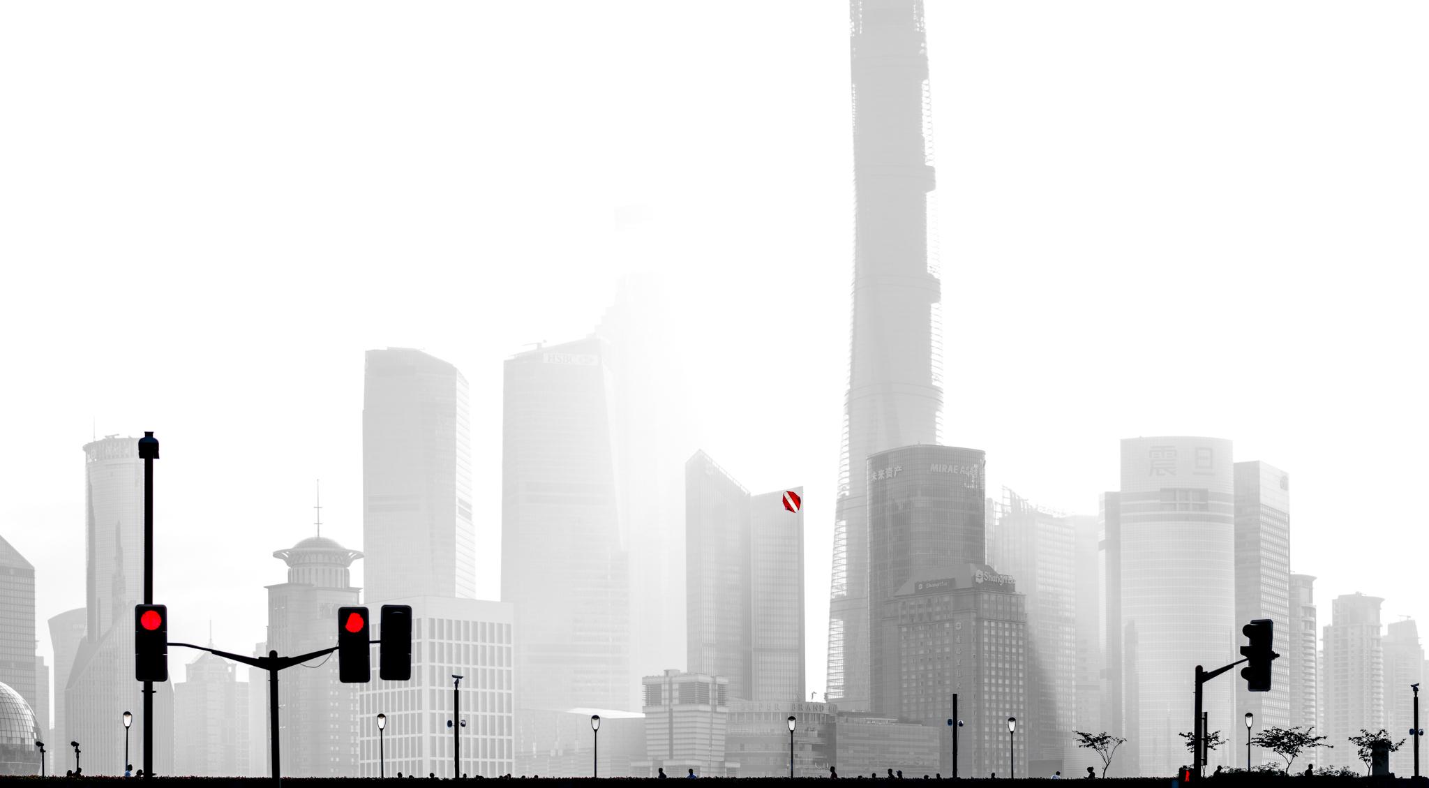 Shanghai, China - October 10, 2015