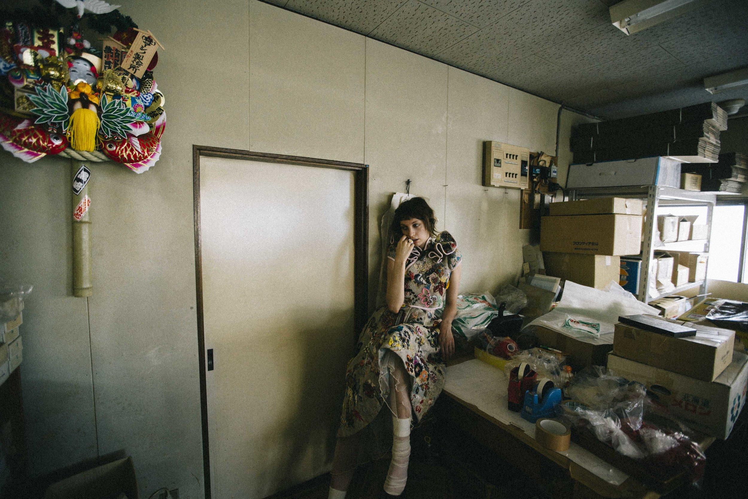 Clothing by Daisuke Tanaka, Photography by Shota Ashino, Hair and Makeup by KATO