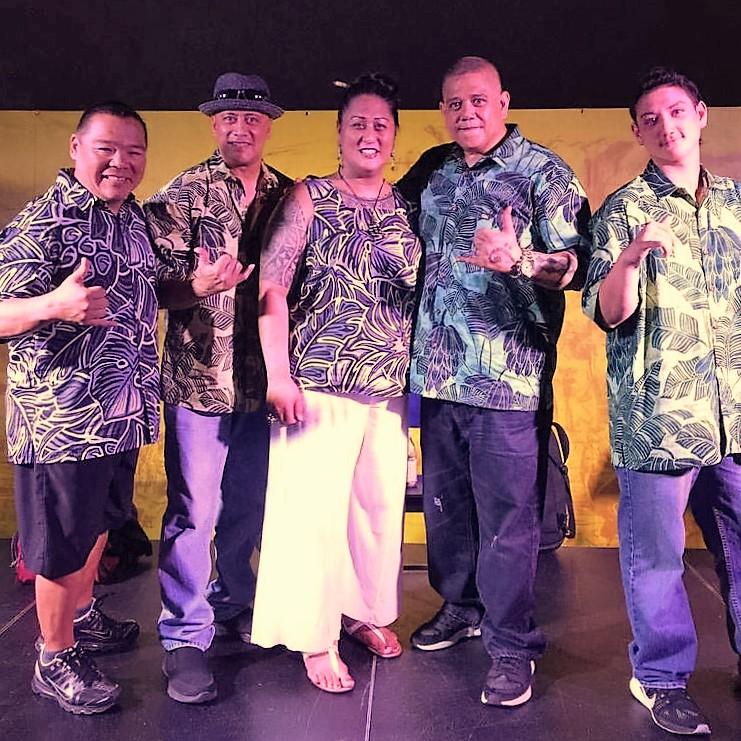 Kona Nui Nights =Wednesday, May 18, 2016 = Ward Village Courtyard    Bruddah Wade, Joe Uahinui, Kumu Hina, Sean Na`auao and Kupu Dalire-Na`auao