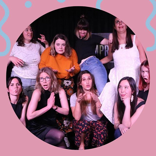 🍰🍰 Happy Birthday to us!!!! 🍰🍰 2 years of laughs and friendship AND being SALTY 🍰🍰🍰 Catch us this Saturday at 7 Pm at the @improvconspiracy for some live improvised comedy 🍰🍰🍰