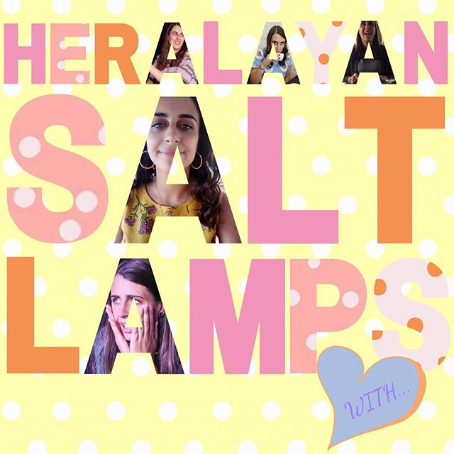 More like HerASHlayan Salt Lamps! Our sweet bb and overseas Heralayan angel Ashley Apap is visiting from LA and will be joining us on stage this Saturday at 7pm! We can't wait to play because we've missed her HEAPS and we're sure you have too 💕
