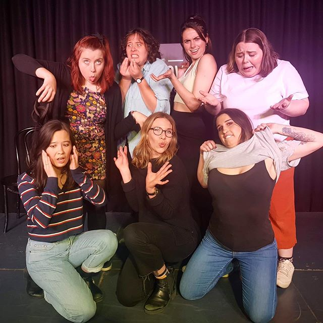 "Hope you all enjoyed our show inspired by the word ""serious"" this month!! (Also on a separate note if anyone has suggestions for some fun poses we could do in our photos pls hit us up we're really running out of ideas)"