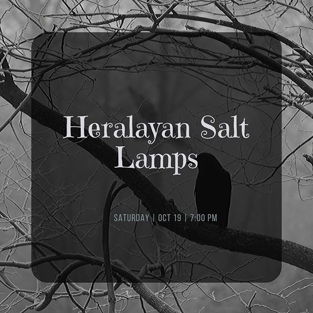 Heralayan Salt Lamps are back to do their monthly improvised show, but this time, it's spooky. Get your tickets and come down, we guarantee these spooked lols will be better than getting ghosted by a Tinder date which is of course the only other Saturday night option you have!
