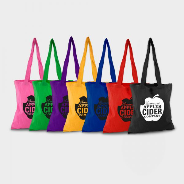 Tote Bags - The tote bags are perfect for events, giveaways and conferences, for both customers and staff. They are also a useful gift for anyone who needs to carry away other items, making them a powerful marketing tool.