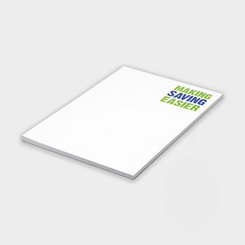 Notepads - Note pads keep your brand in front of clients and prospects. Perfect for offices, training courses, schools, universities and sales teams.