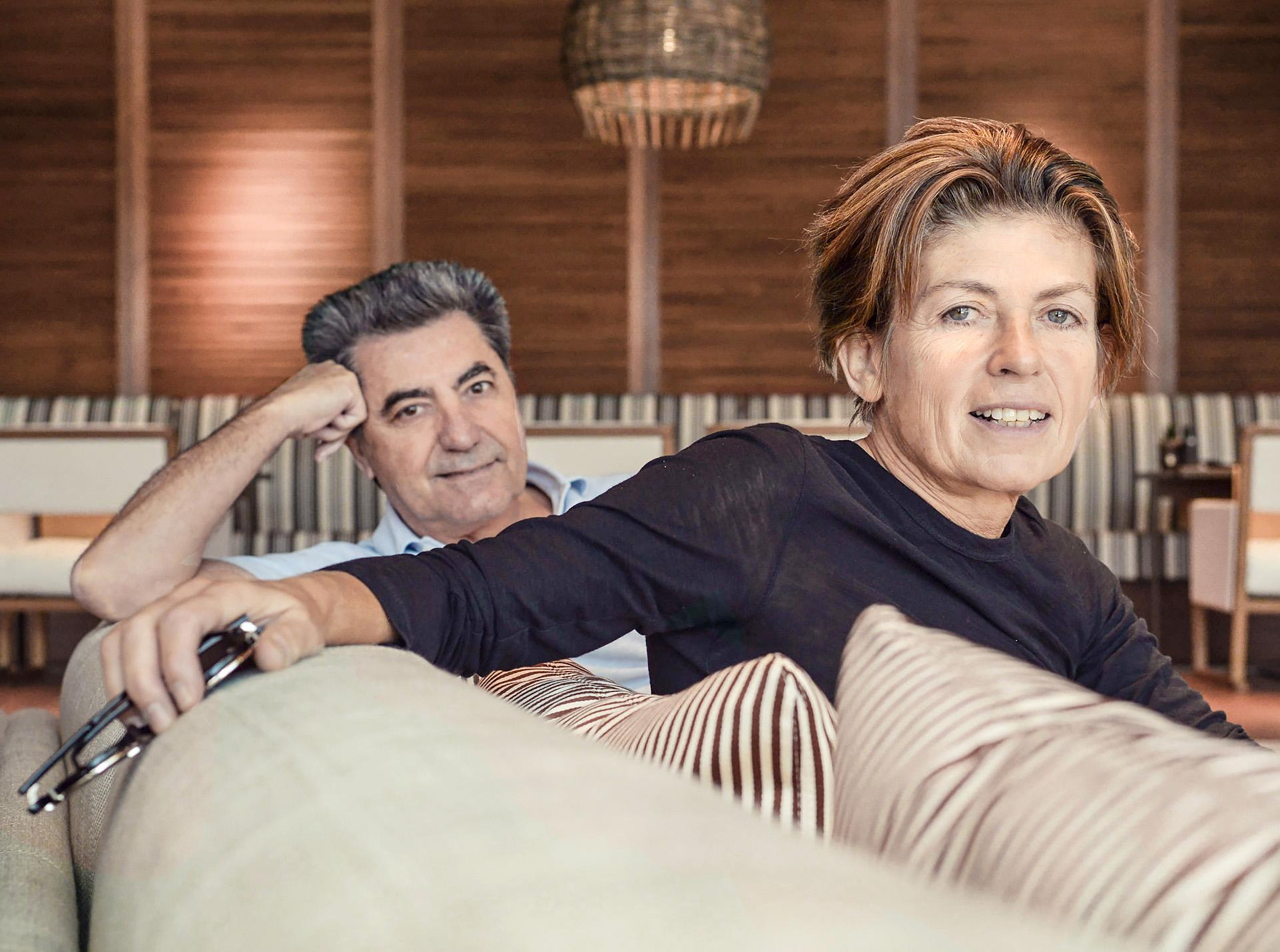 The designers: Antonio Citterio & Patricia Viel