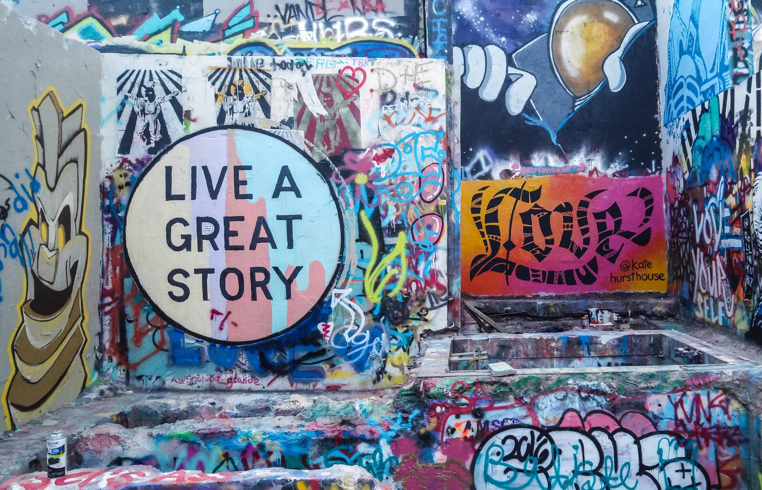 Kate Hursthouse Mural // LOVE // Austin, Texas