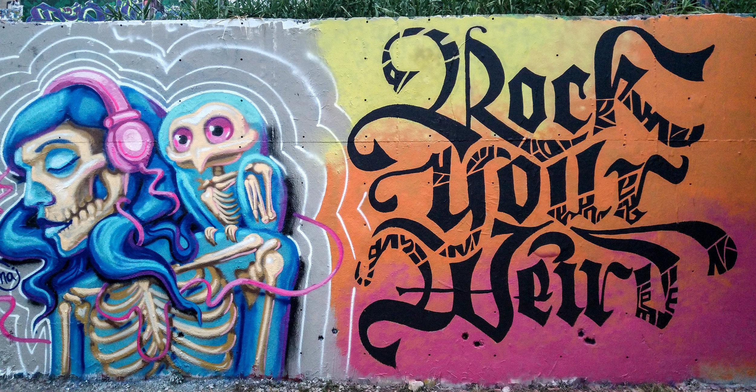 Kate Hursthouse Mural // Rock Your Weird // Austin, Texas