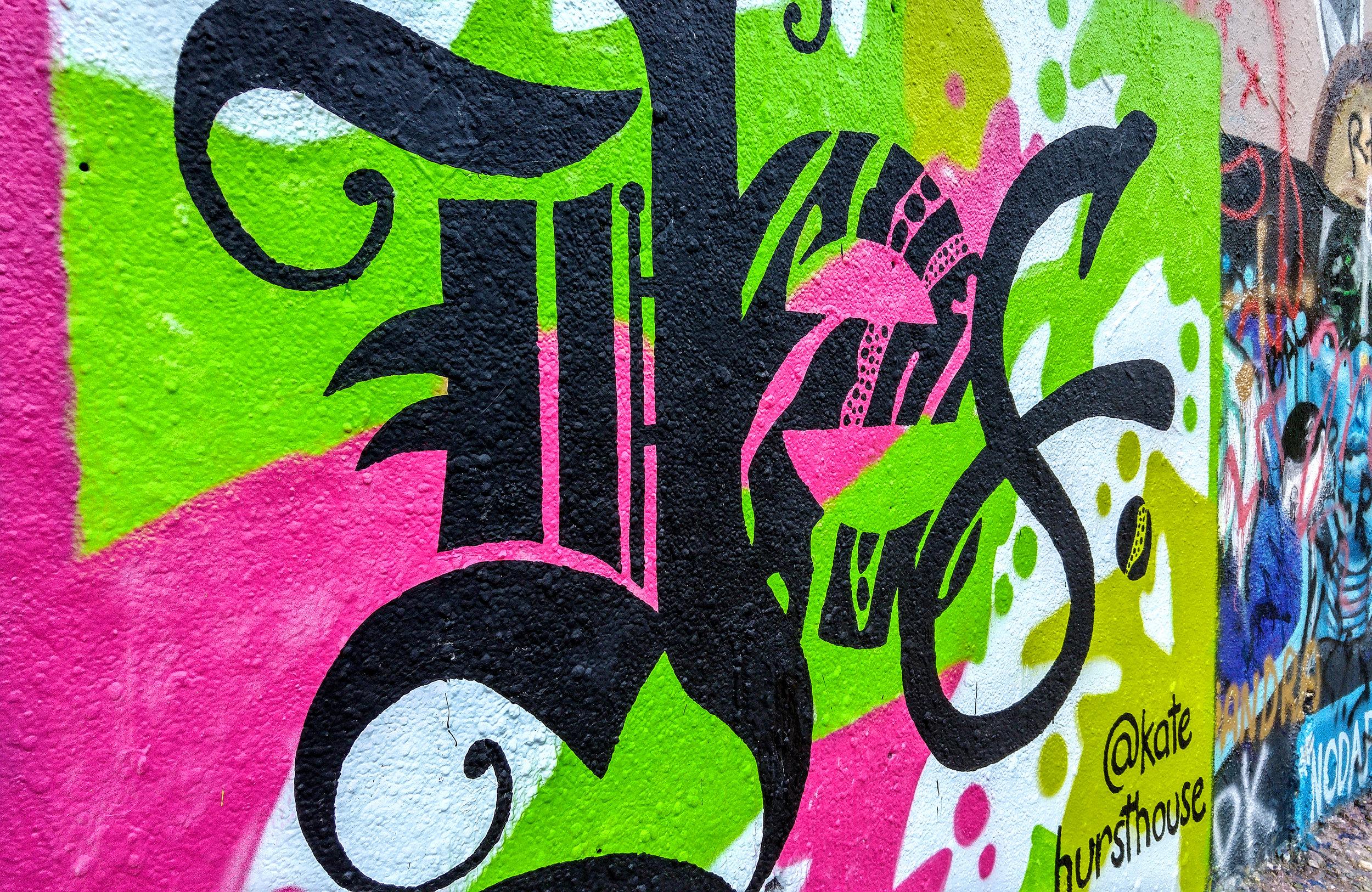 Kate Hursthouse Mural // YES // Austin, Texas