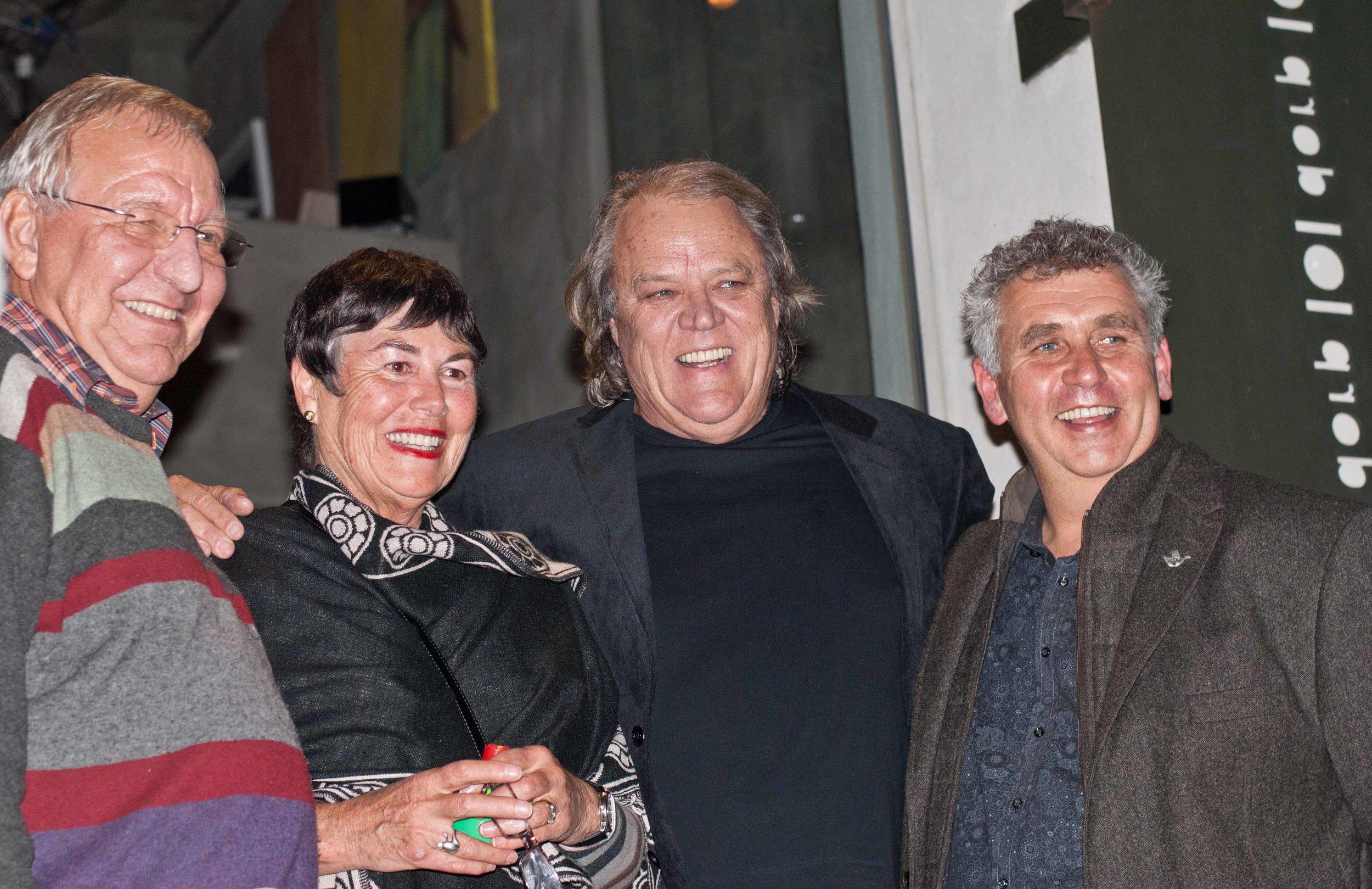Gerhard & Di Van Niekerk, Les Sharpe & Johann Slee.jpg