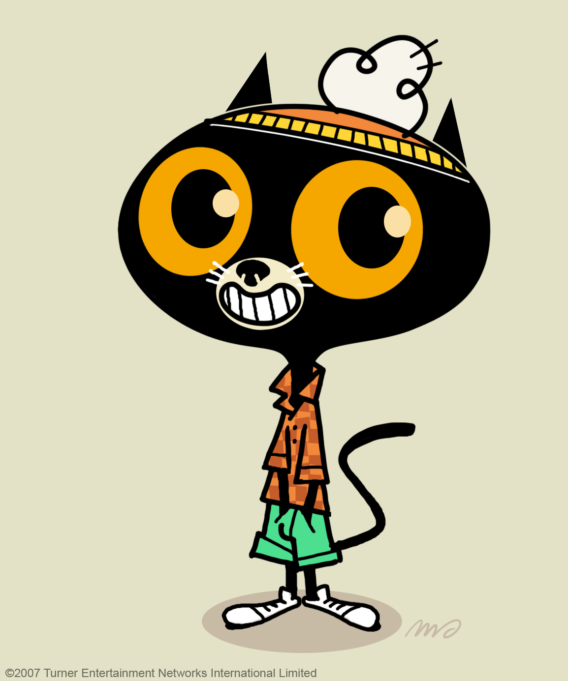 When Gumball almost became a black cat.