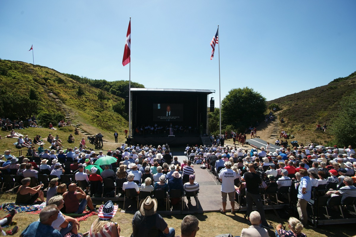Celebration, July 4 - At 2 PM the Celebration will take place in the Hills. Keynote Speakers, music and entertainment.