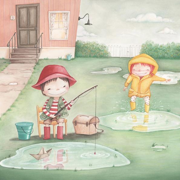 Lisa Ciccone Illustration - Barisciano, Aquila