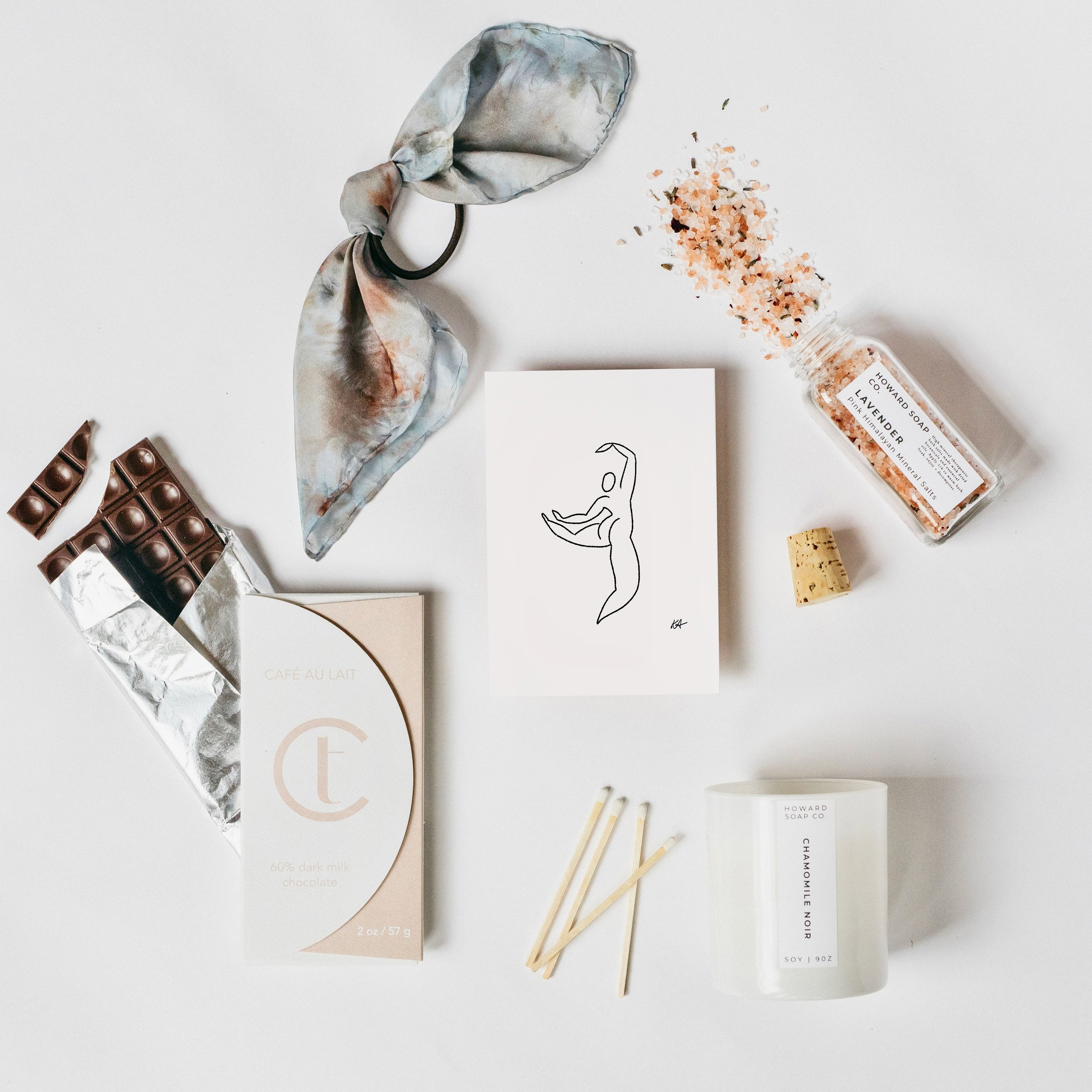 refresh x wit and delight flat lay