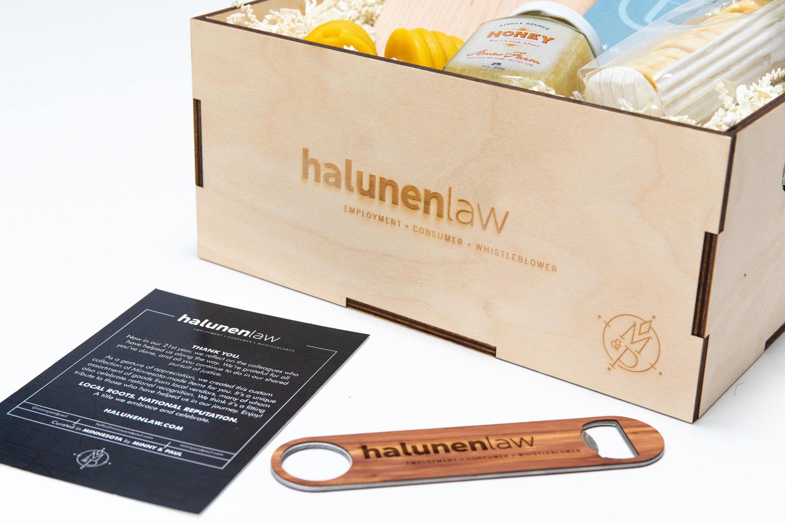 Custom Branded Crate, Insert and Bottle Opener